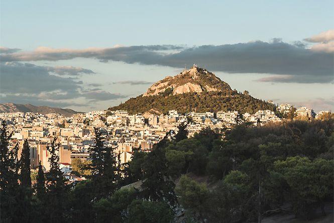 Griechenland Athen Acropolis Jacuzzi House