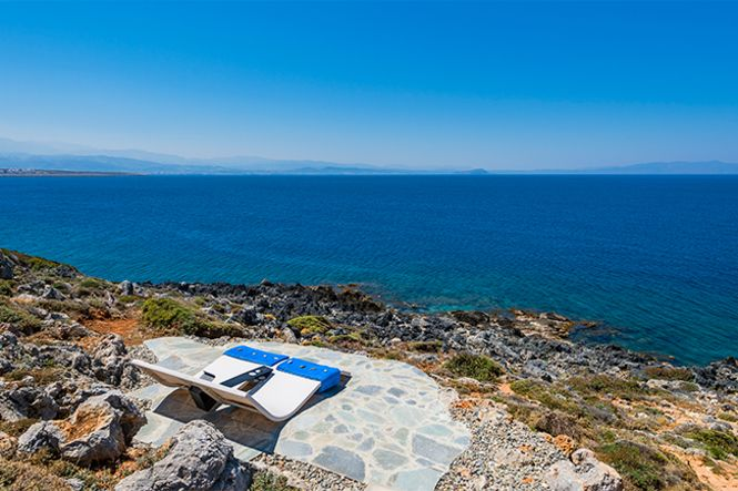 Crete La Canee Akrotiri Sea View Villa