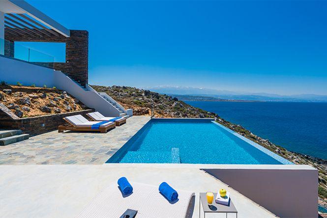 Creta La Canea Akrotiri Sea View Villa