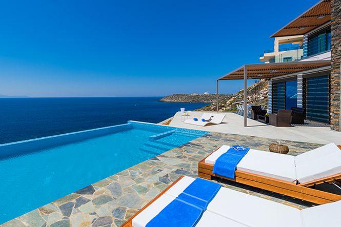 Crete Chania Akrotiri Sea View Villa