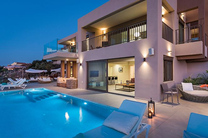 Crete La Canee Chania Seaview Villa