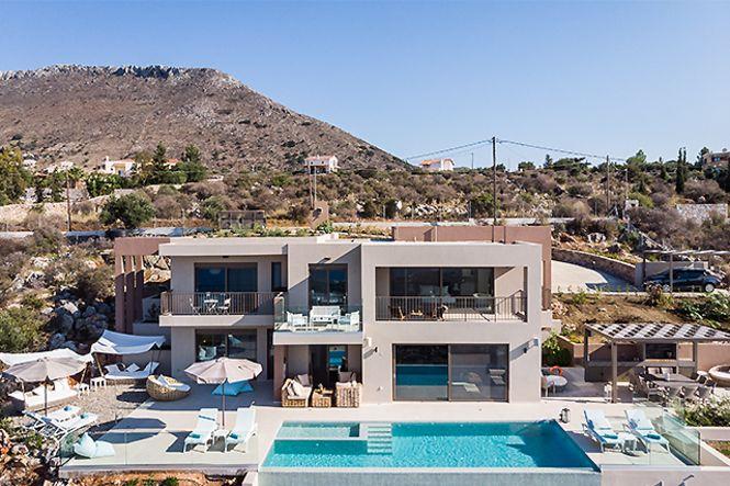 Creta La Canea Chania Seaview Villa