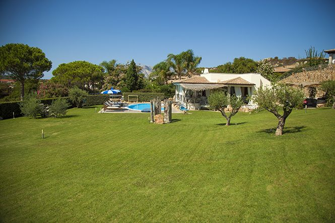 Italien Sardinien Beach Villa Capo Coda