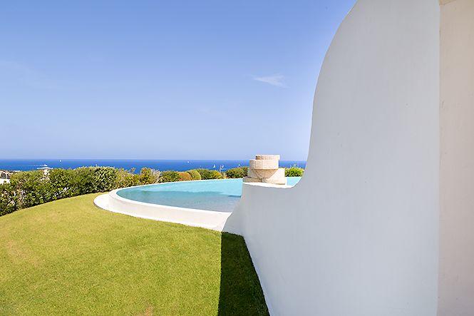Italien Sardinien Seaview Villa Porto Cervo
