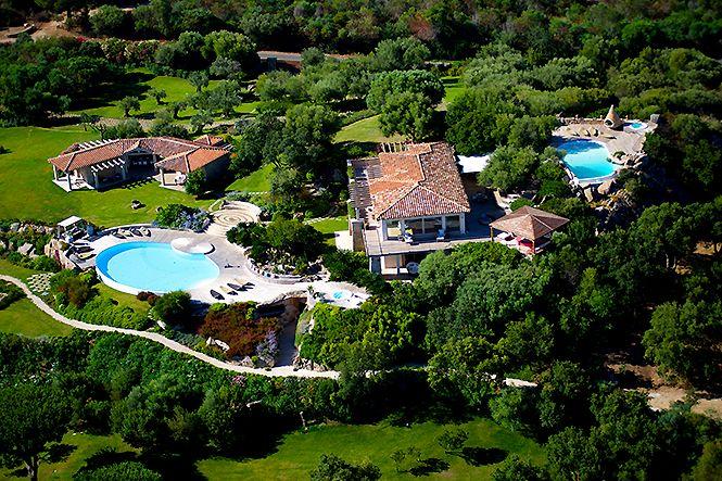 Italien Sardinien Luxury Villa Puntaldia