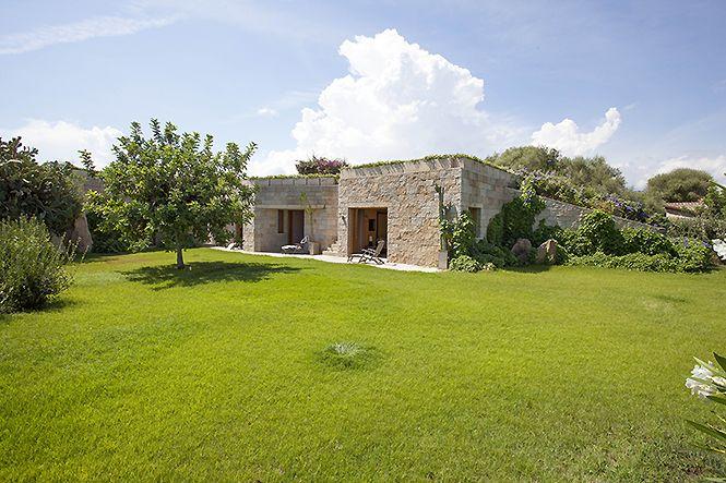 Italie Sardaigne Lu Impostu Modern Villa