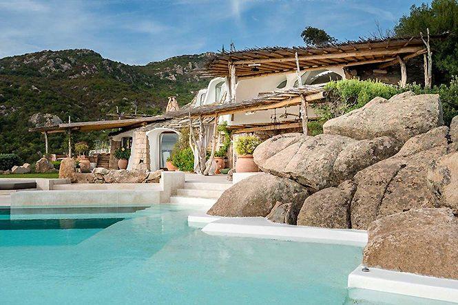 Italie Sardaigne Porto Cervo Design Villa