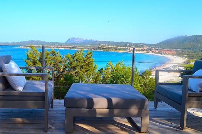 Italien Sardinien Porto Rotondo Beach Villa