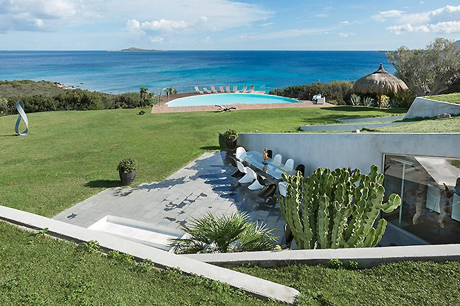 Italien Sardinien Costa Smeralda Luxury VIlla