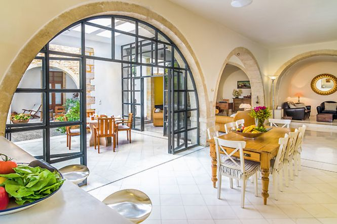 Crete Rethymnon Maroulas Chic Holiday Home