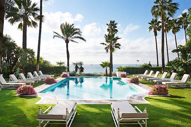 Spanien Marbella Golden Mile Beach Villa