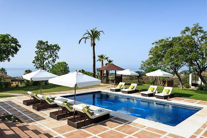 Spanien Costa del Sol Estepona Sea View Villa