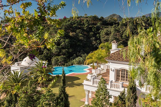 Spanien Marbella Zagaleta Luxury Mansion