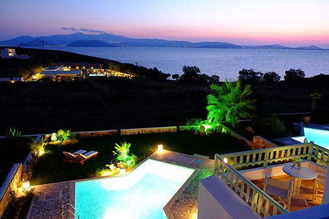 Griechenland Naxos Agios Prokopios Villa Luxe