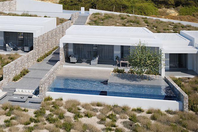 Griechenland Naxos Design Villa Naxos