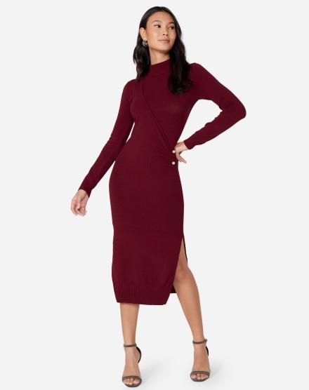 ef71fed51e3e Vestido de Inverno   Comprar Vestidos de Tricô para o frio   AMARO