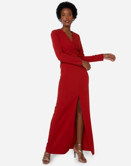 Vestido Com Fenda Curtos Midi E Longos Com Fenda Amaro