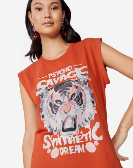 91094cec90 T-Shirt Feminina | Comprar Camisetas Femininas Online | AMARO