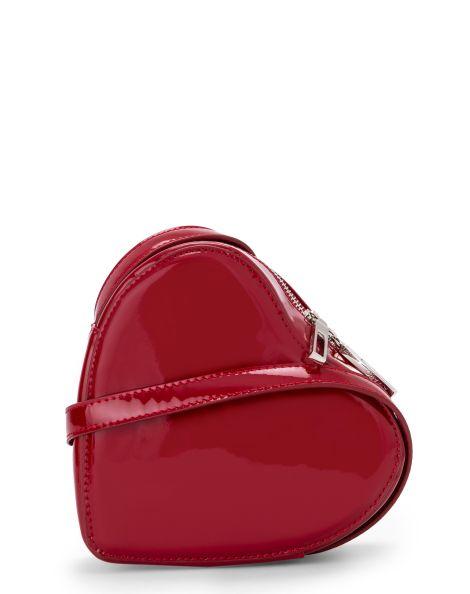 Amaro Feminino Bolsa Crossbody Coração, Vermelho