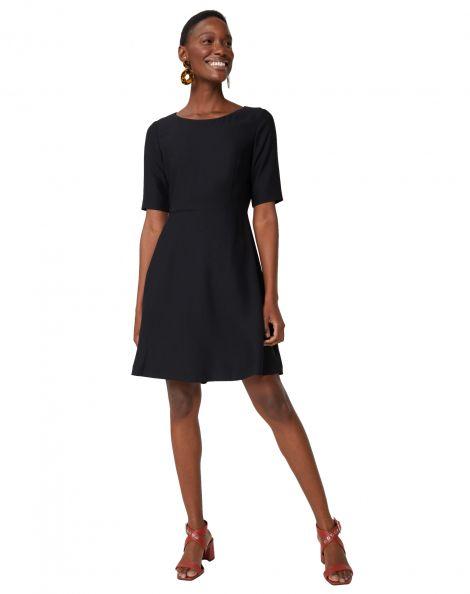 Amaro Feminino Vestido Work Clássico, Preto