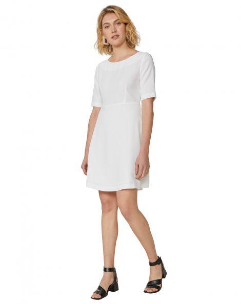 Amaro Feminino Vestido Work Clássico, Branco