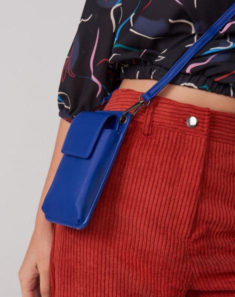 Amaro Feminino Mini Bolsa Celular, Azul