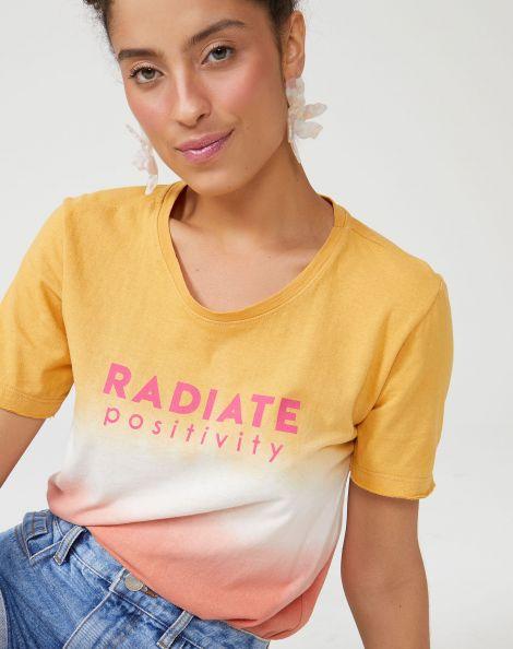 Amaro Feminino T-Shirt Tie Dye Radiate, Multi