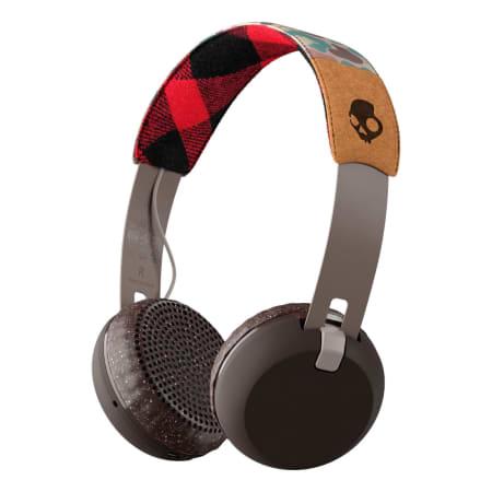 Skullcandy Grind Wireless - On-Ear-Kopfhörer - Tan Camo Brown
