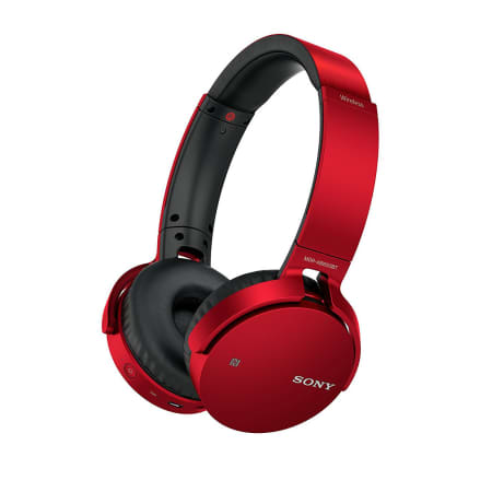 Sony MDR-XB650BT EXTRA BASS - On-Ear-Kopfhörer - Rot