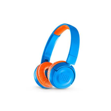 JBL JR300BT - On-Ear-Kopfhörer für Kinder - Blau/Orange