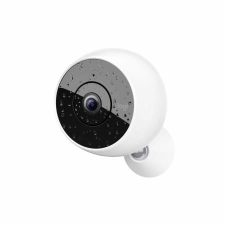 Logitech Circle 2 - kabellose Sicherheitskamera innen/außen - Weiß