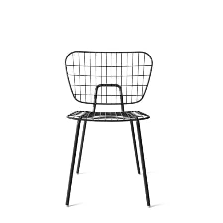 Menu - WM String Dining Chair, schwarz
