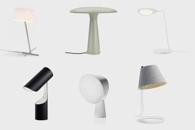 Diese Designer Tischleuchten sollten in jeder Wohnung stehen.