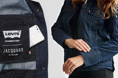 Smarte Jacke von Google und Levis für urbane Radfahrer