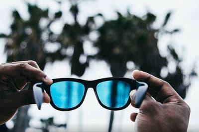 Zungle Bluetooth Sonnenbrille mit Musikwiedergabe über Knochenschall