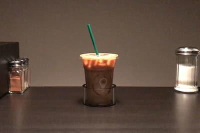 Der Stircle – rührt Kaffee ohne Rührstäbchen