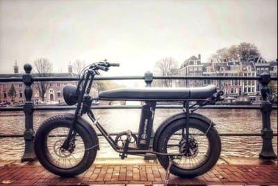 UNIMOKE Urban E-Bike – coole Optik und das Design eines Mopeds aus den 70ern