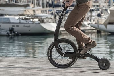 Halfbike ist eine neue Art von Fahrrad, das Deinen natürlichen Bewegungsinstinkt belebt!