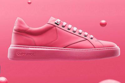 Gumshoe – cooler Sneaker aus benutzten Kaugummis
