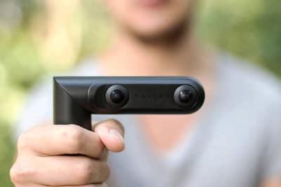 QooCam, die 4K, 360 Grad Kamera mit 3D Funktion, und Designpreis