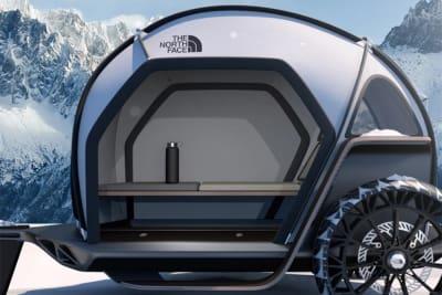 BMW's und The North Face's Futurelight  Camper Wohnwagen Konzept