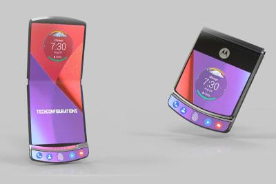 Motorola Razr V4 kommt im Februar 2019, so soll das faltbare Kult-Handy aussehen