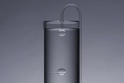 Überraschendes Glasobjekt Form of Gravity von Haruka Misawa