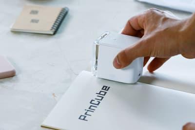 PrinCube – der kleinste mobile Drucker für Alles
