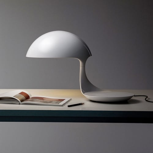 martinelli luce cobra design tischleuchte 360 drehbar amazcy. Black Bedroom Furniture Sets. Home Design Ideas