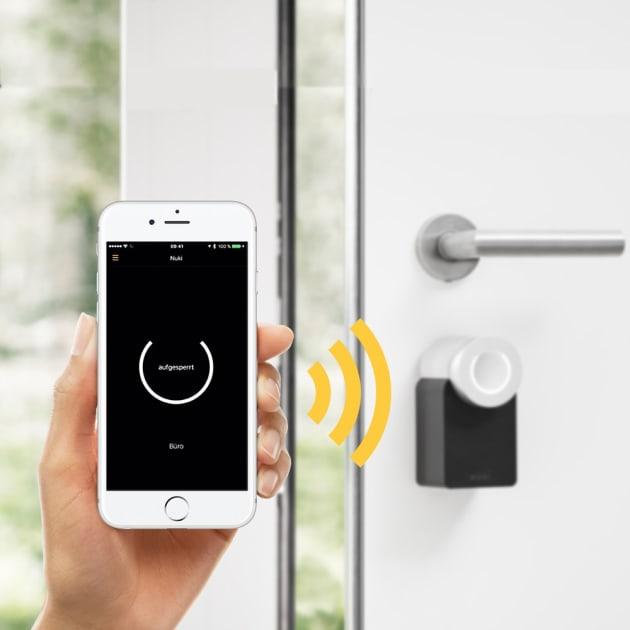 Nuki Smart Lock Elektronisches Türschloss