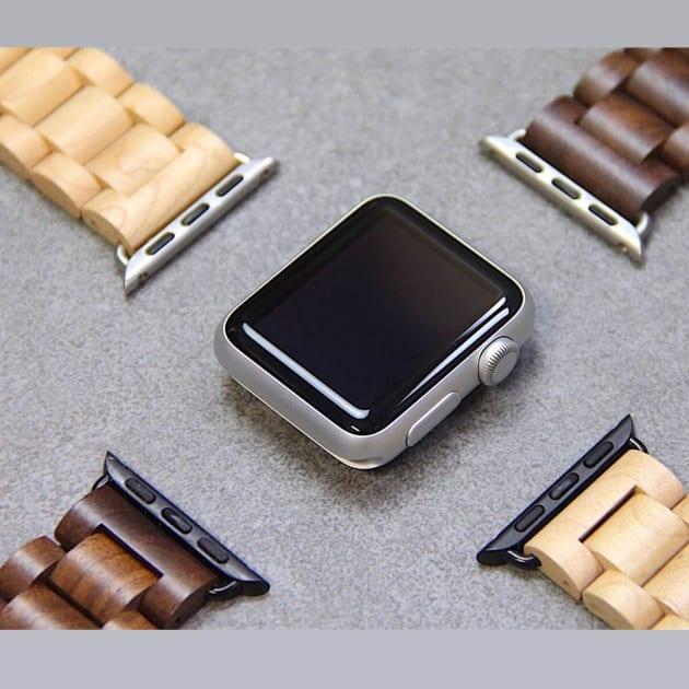 EcoStrap Holzband für Apple Watch