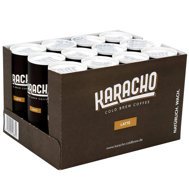 KARACHO Cold Brew Kaffee Latte – Natürlich Wach