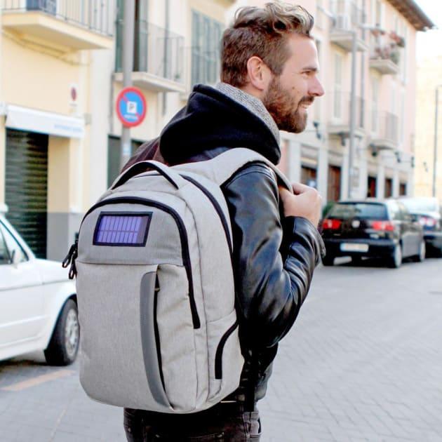 Lifepack Solarbetriebener und Anti-Diebstahl Rucksack