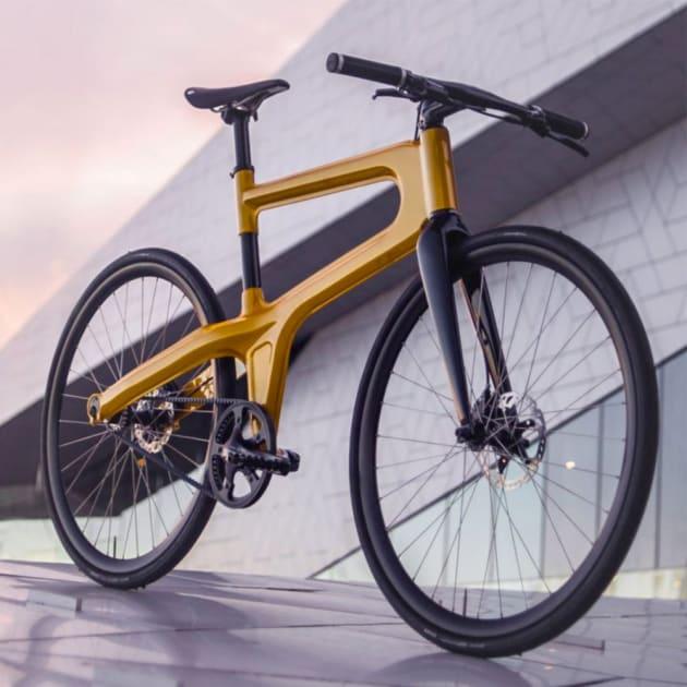 Mokumono Delta Aluminium Fahrrad